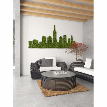 NY végétal en lichen naturel et stabilisé