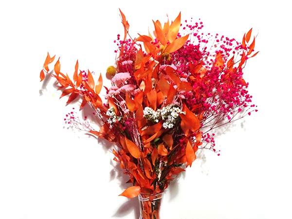 Bouquets de fleurs stabilisées
