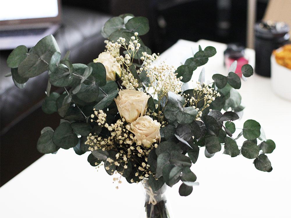 Garance - Bouquet fleurs stabilisées