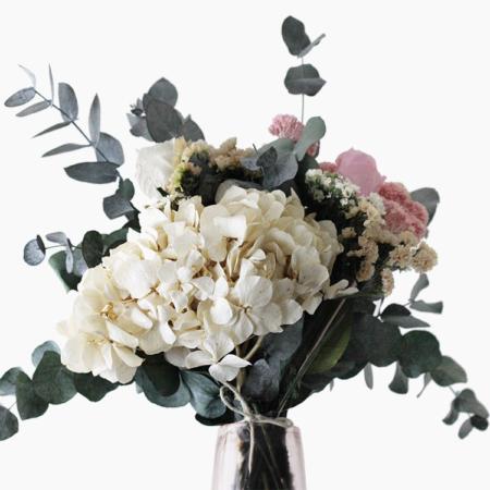 Hortense - Bouquet fleurs stabilisées