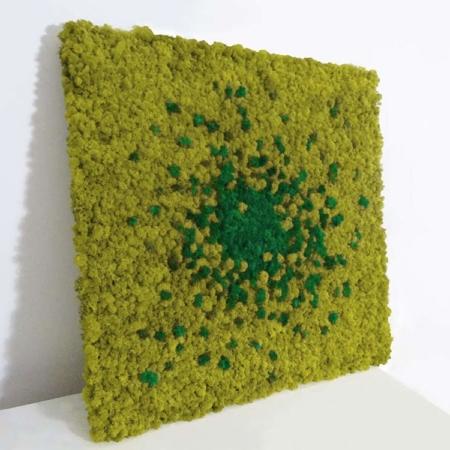 """Tableau végétal<br><span class=""""titre-produit-span-vert-petrole"""">en lichen scandinave naturel & stabilisé<br><span class=""""titre-produit-span-black"""">design Cosmos</span>"""