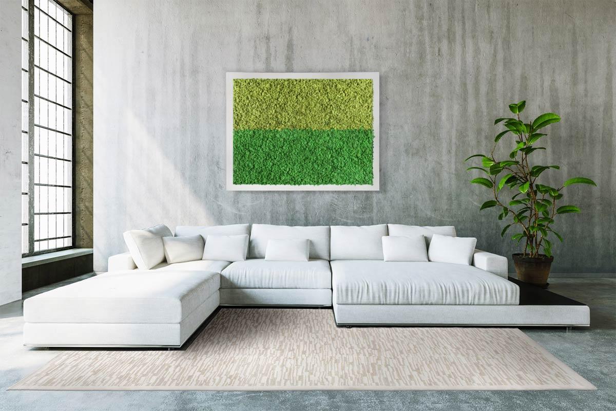 tableau v g tal design duo n 2 mousse pr serv e originalmoss. Black Bedroom Furniture Sets. Home Design Ideas