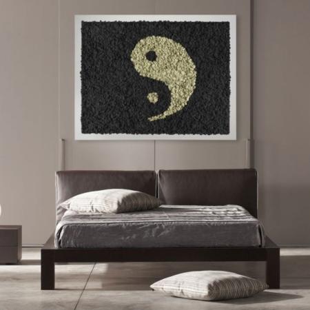 Tableau végétal - Yin Yang