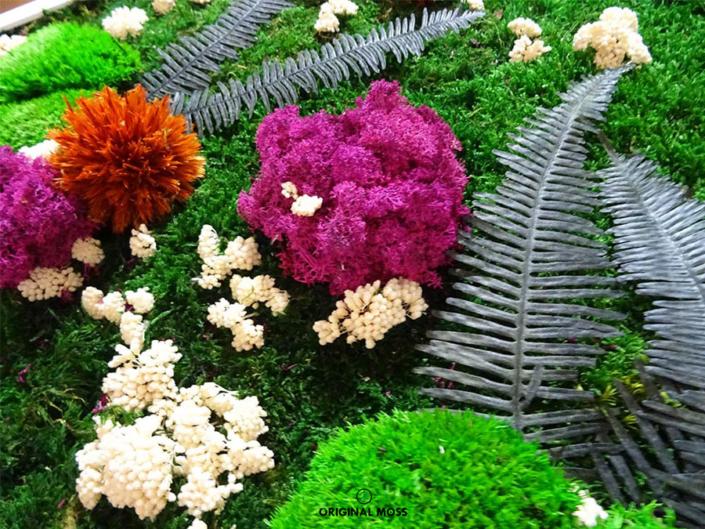 Design végétal stabilisé style Jungle